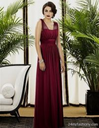 maroon bridesmaid dresses with sleeves 2016-2017 | B2B Fashion