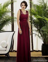 maroon bridesmaid dresses with sleeves 2016-2017 | B2B Fashion