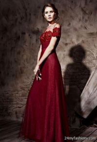 maroon evening gown 2016-2017 | B2B Fashion