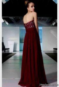 maroon prom dress 2016-2017 | B2B Fashion