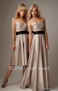 mocha bridesmaid dresses 2016-2017 | B2B Fashion