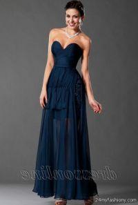 navy blue lace prom dresses 2016-2017 | B2B Fashion