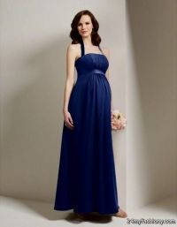 navy blue maternity bridesmaid dress 2016-2017 | B2B Fashion