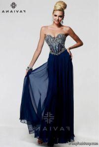 navy blue prom dresses 2016-2017 | B2B Fashion