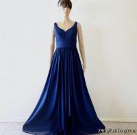 navy blue prom dresses long 2016-2017 | B2B Fashion