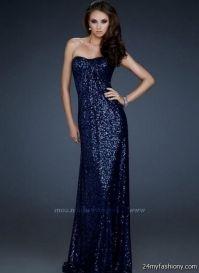 navy blue sequin prom dress 2016-2017 | B2B Fashion