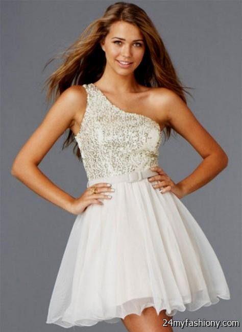 one shoulder homecoming dresses under 100 2016-2017 » B2B Fashion
