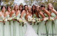 pale green bridesmaid dresses 2016-2017 | B2B Fashion