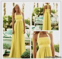 pastel yellow bridesmaid dresses 2016-2017 | B2B Fashion