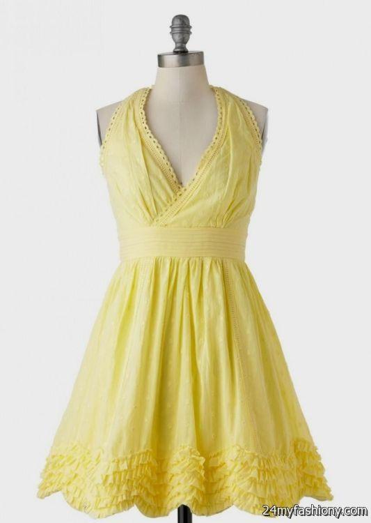 pastel yellow sundress 2016-2017 » B2B Fashion