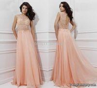peach plus size prom dresses 2016-2017 | B2B Fashion