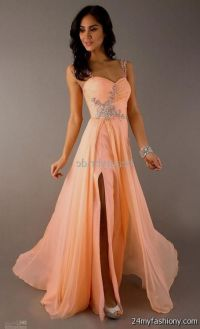 Peach Prom Dresses | www.imgkid.com - The Image Kid Has It!