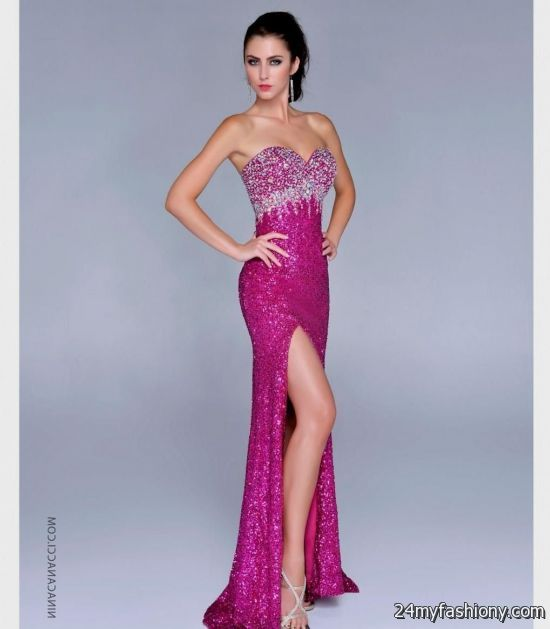 Pink sparkly prom dresses 20162017  B2B Fashion