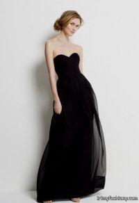 plain black mermaid prom dress 2016-2017   B2B Fashion