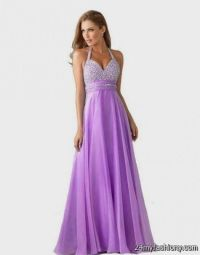 pretty light purple prom dresses 2016
