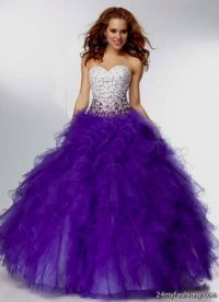 purple and white prom dresses 2016-2017 | B2B Fashion