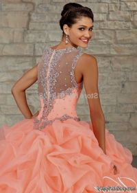 quinceanera dresses color peach 2016-2017 | B2B Fashion