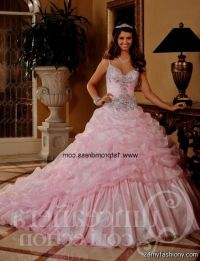 quinceanera dresses light pink and gold 2016-2017 | B2B ...