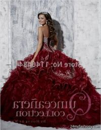red and gold quinceanera dresses 2016-2017 | B2B Fashion
