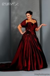 red bridesmaid dresses with sleeves plus size 2016-2017 ...