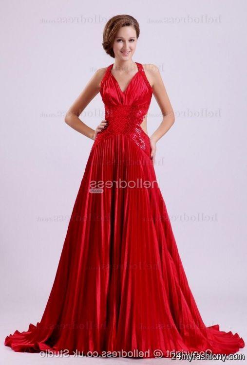 red classy prom dresses looks  B2B Fashion