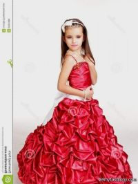 red dress for little girls 2016-2017 | B2B Fashion
