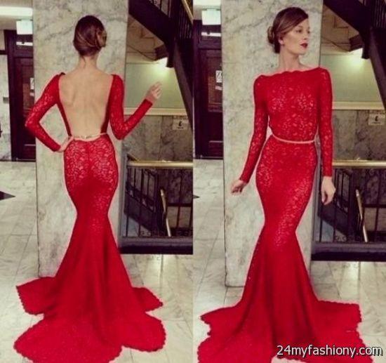 red lace prom dress tumblr 2016-2017 » B2B Fashion