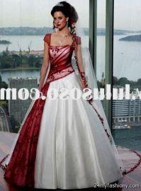 red white and black wedding dress 2016-2017   B2B Fashion