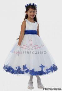 royal blue and white flower girl dresses 2016-2017 | B2B ...