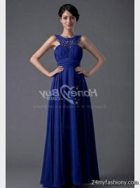 royal blue winter formal dresses 2016-2017 | B2B Fashion