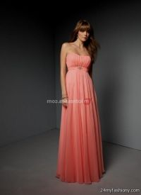 Salmon Bridesmaid Dresses_Bridesmaid Dresses_dressesss