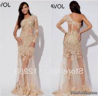 see through lace prom dress 2016-2017 | B2B Fashion
