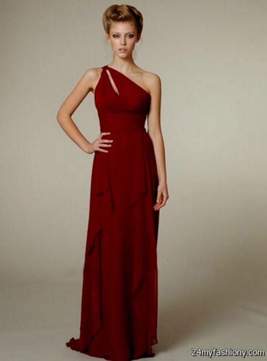 sexy dark red bridesmaid dresses 2016-2017 » B2B Fashion