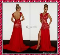 sexy red lace prom dresses 2016-2017 | B2B Fashion