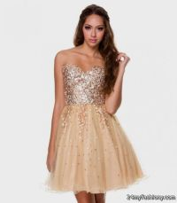 short gold prom dresses 2016-2017 | B2B Fashion