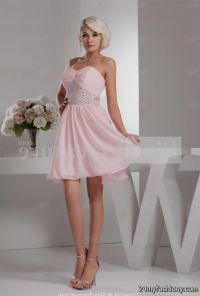 short light pink bridesmaid dresses 2016-2017 | B2B Fashion