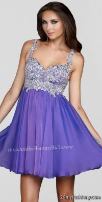 short light purple prom dress 2016-2017 | B2B Fashion