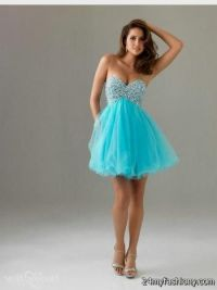 Short Poofy Dresses For Prom - Eligent Prom Dresses