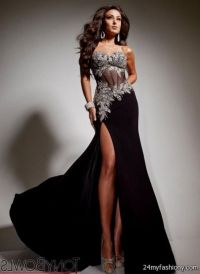 silver and black prom dresses 2016-2017 | B2B Fashion