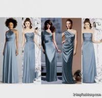 slate blue bridesmaid dress 2016-2017 | B2B Fashion