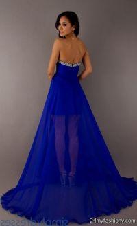 strapless cobalt blue bridesmaid dresses 2016-2017 | B2B ...