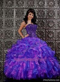 sweet 16 dresses purple and blue 2016-2017 | B2B Fashion