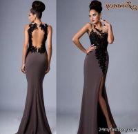Pics For > All Black Prom Dress
