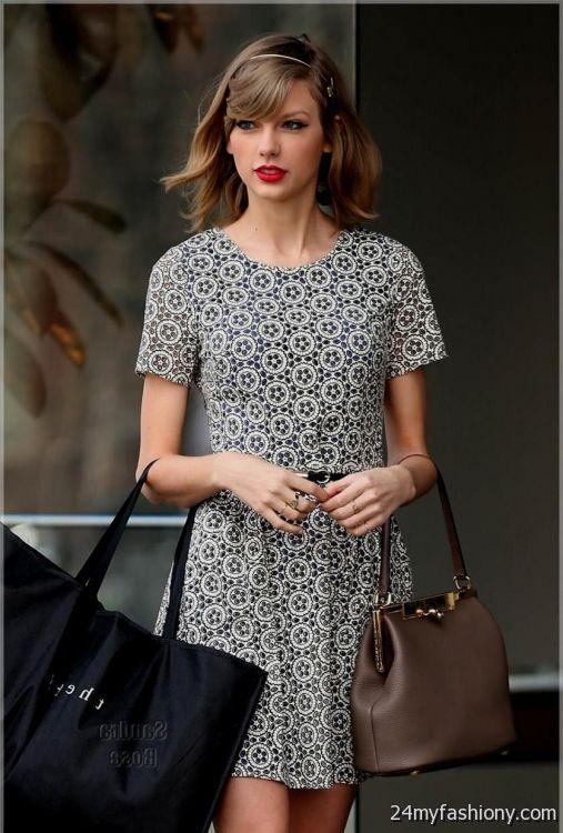 Taylor Swift white lace dress 20172018  B2B Fashion
