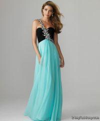 Black And Teal Prom Dresses - Eligent Prom Dresses