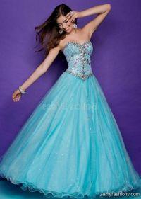 Teal Blue Prom Dresses - Holiday Dresses