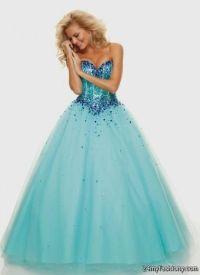 Teal Blue Prom Dresses 2017 - Plus Size Prom Dresses
