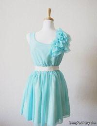 tiffany blue chiffon bridesmaid dresses 2016-2017 | B2B ...