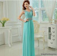 tiffany blue lace bridesmaid dresses 2016-2017 | B2B Fashion