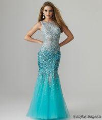 Turquoise mermaid prom dress 2017-2018 | B2B Fashion